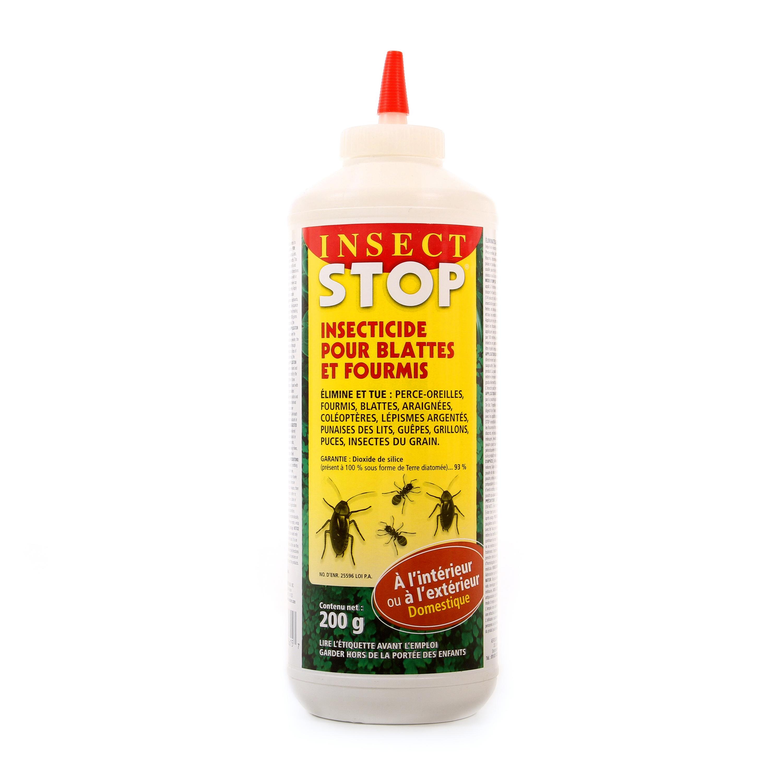Insecticide insect stop contre les blattes et fourmis int rieur et ext rieur aerokure - Produit contre les fourmis ...