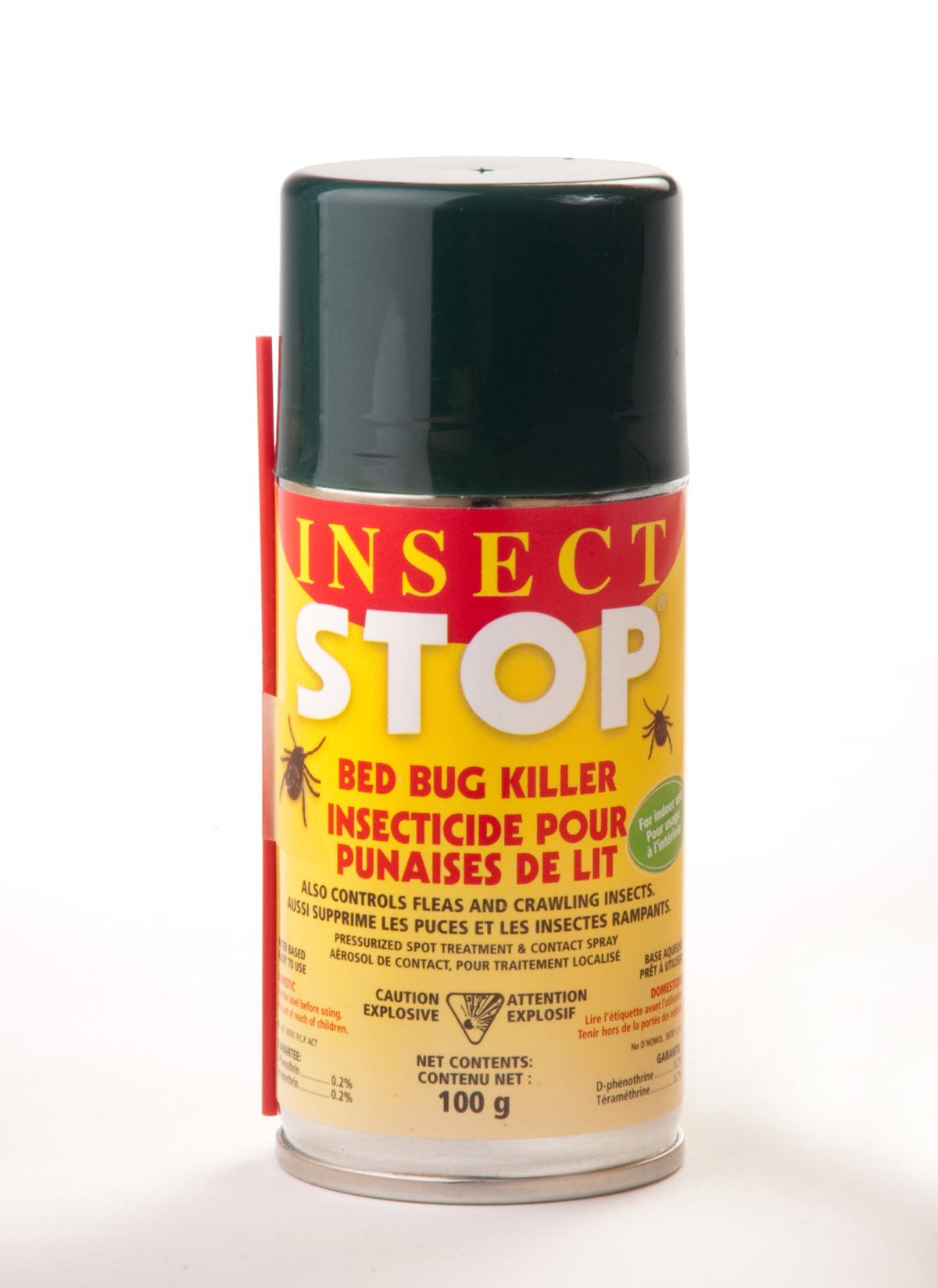 Insecticide Insect Stop contre les punaises de lit, les