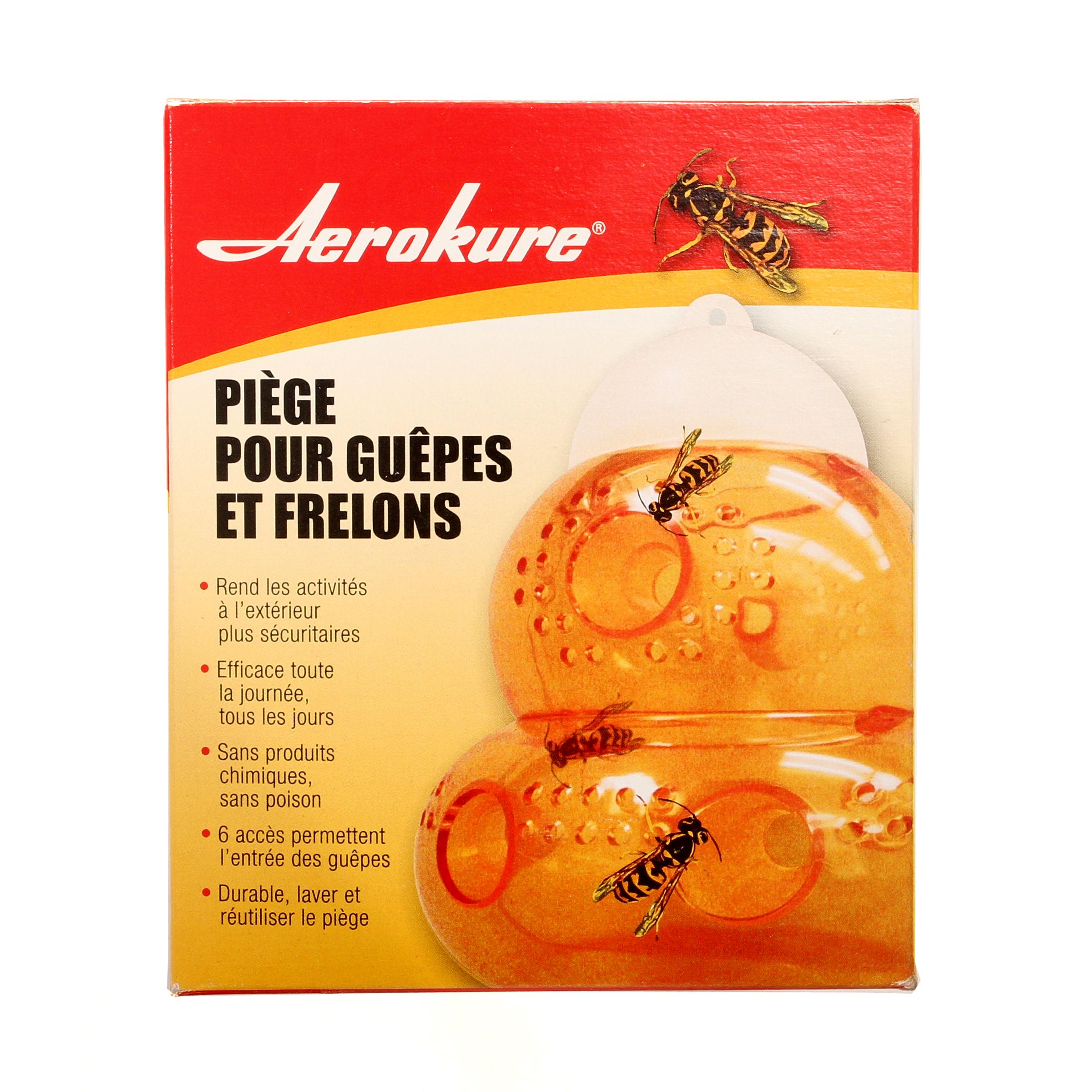 Pi ge pour gu pes et frelons aerokure international - Piege a frelons et guepes ...